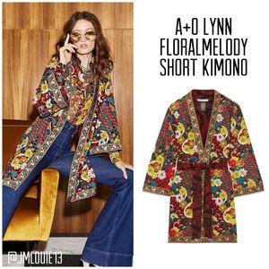 🚫EB BID🚫Alice + Olivia Lynn Floral Melody Kimono